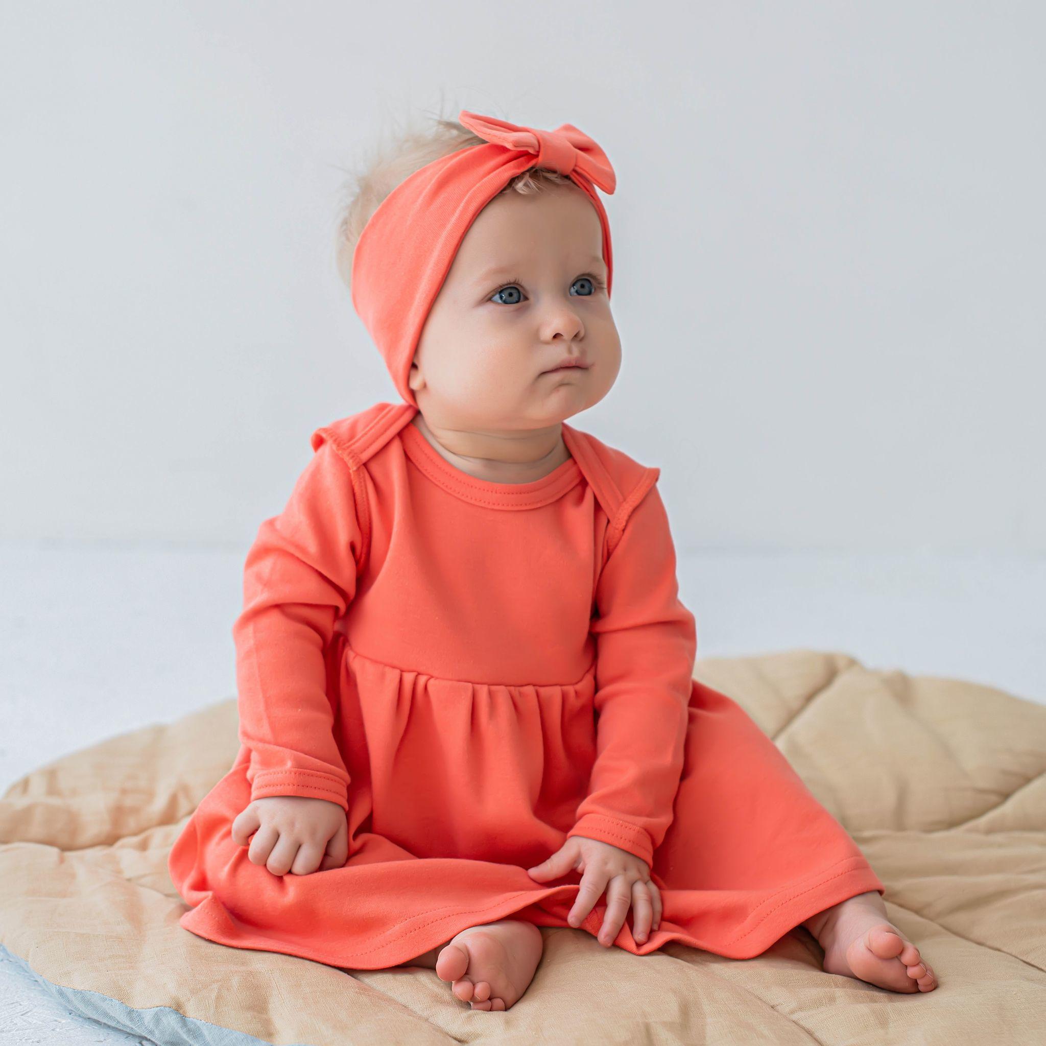 Dress bodysuit 0+, Peach