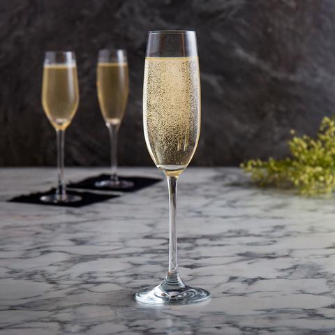 Бокалы для шампанского «Salute», 12 шт, 210 мл