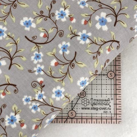 Ткань для пэчворка, хлопок 100% (арт. X0308)