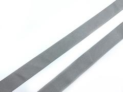 Репсовая лента (сантюр) 25мм, серая
