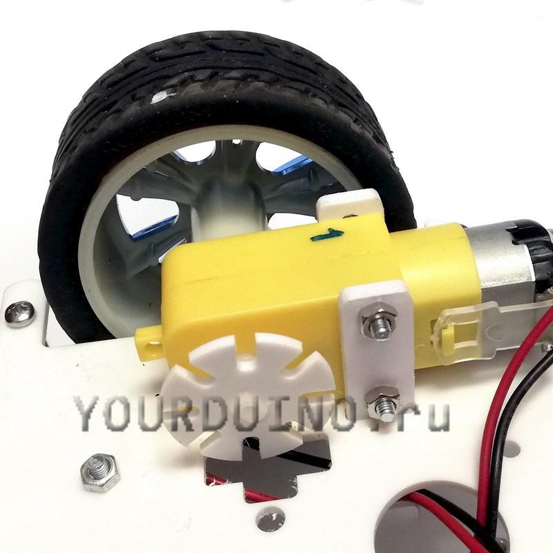 Крепление для мотора-редуктора (2 шт)