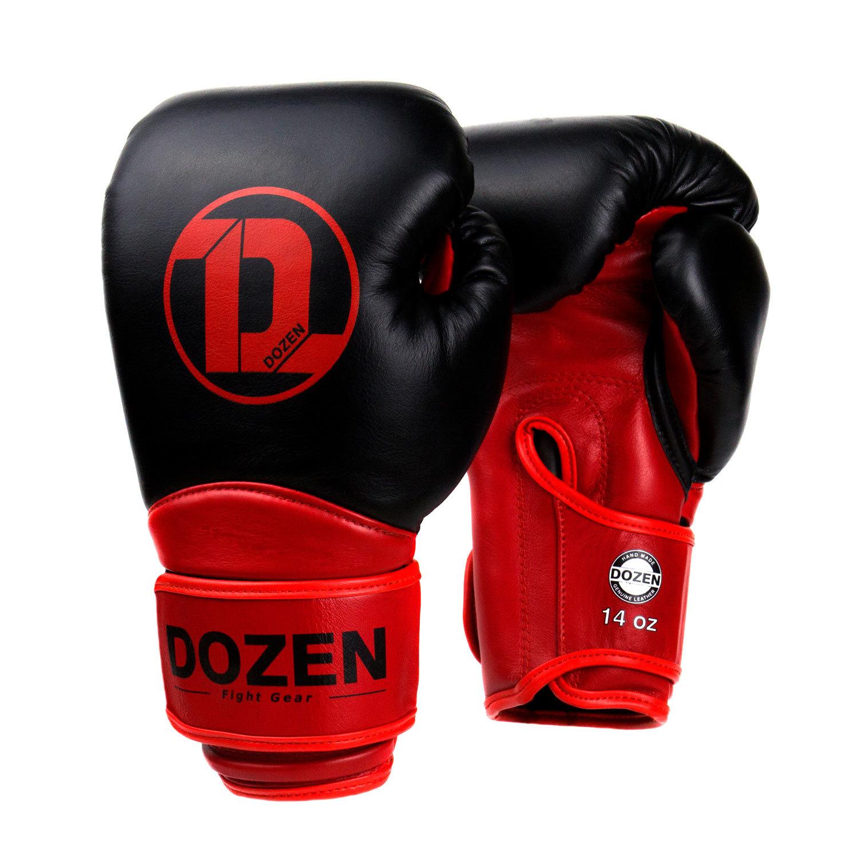 Перчатки Dozen Dual Impact Bk/R главный вид