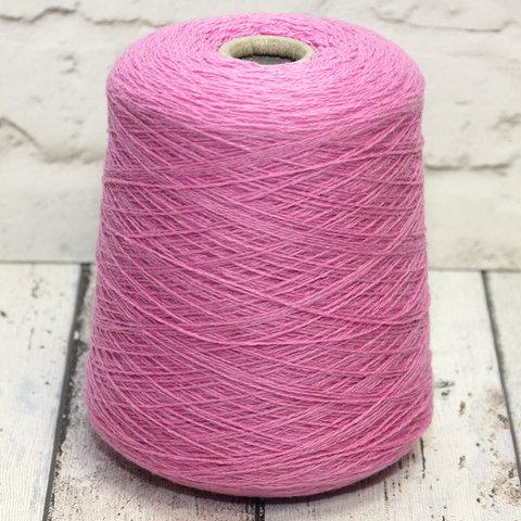Кашемир 550 Loro Piana Coarsehair розово-сиреневый