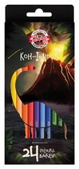 Карандаши цветные DINO 3594, 24 цвета