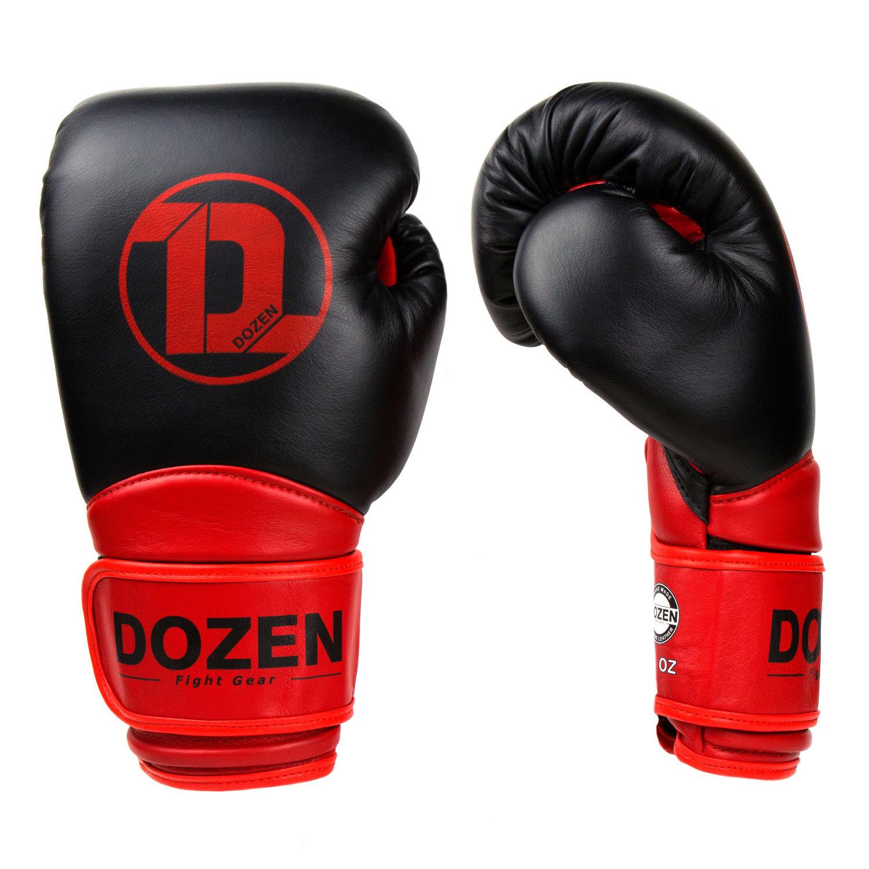 Перчатки Dozen Dual Impact Bk/R вид сбоку