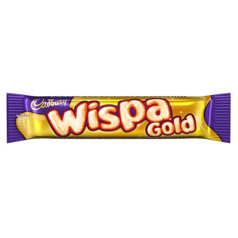 Шоколадный батончик Cadbury Wispa Gold с карамелью 48 гр