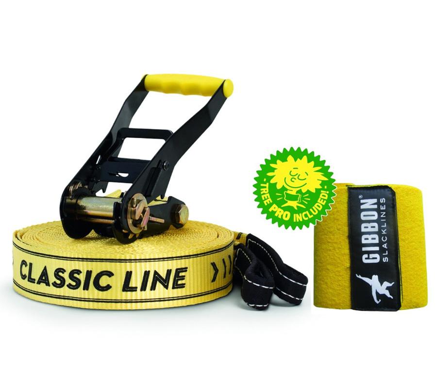 Слэклайн Classic X13 25 метров + защита