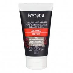 Гель для умывания Детокс гидрофильный, 150ml, TМ Levrana