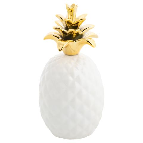 Керамический ананас -золото