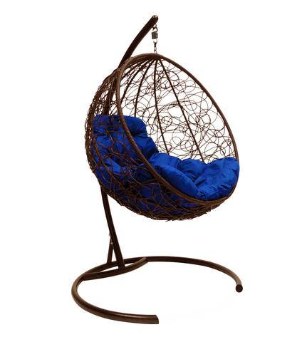 Кресло подвесное Milagro brown/blue