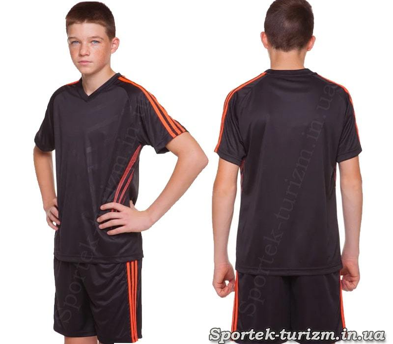 Подростковая футбольная форма SP-Sport Glow CO-703B_BK