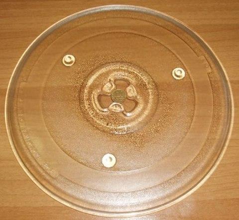 Тарелка для микроволновки 270mm (с крепл.10коп.внутрь) Daewoo- MCW003LG