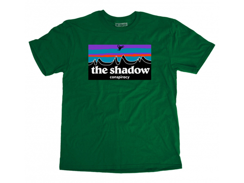 Футболка Shadow Out There зеленый