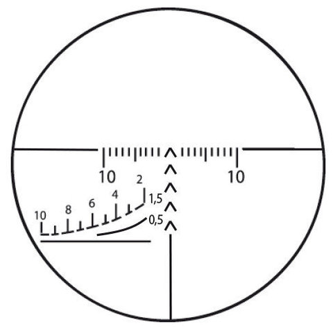 Прицел оптический ПОСП 3-9x42 (1.5/1000)