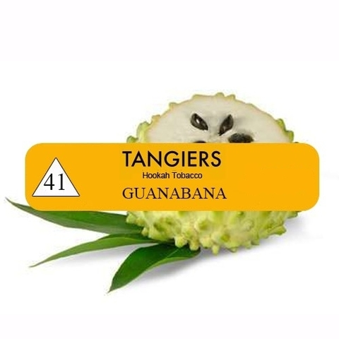 Табак Tangiers T41 Guanabana (Танжирс Гуанабана - Сметанное Яблоко)  Noir 20г