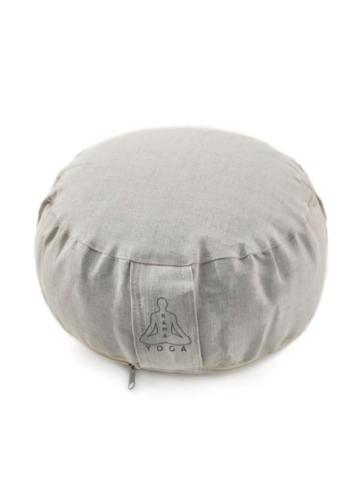 Подушка для медитации лен 30*15 см