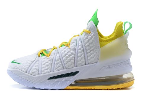 Nike LeBron 18 'White/Yellow/Green'