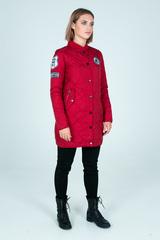 Удлиненная куртка из плащевки недорого