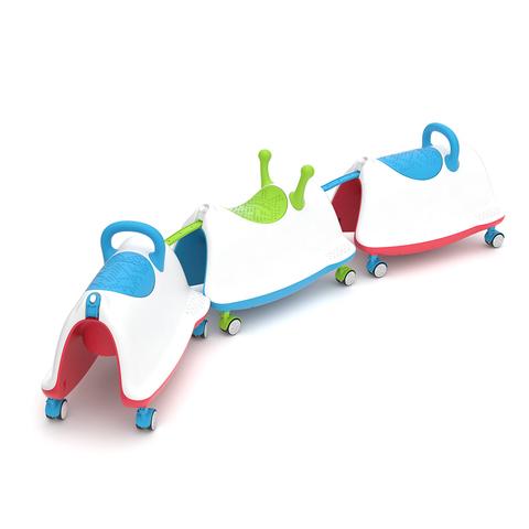 Детский беговел-каталка-качалка-ходунки Chillafish Trackie
