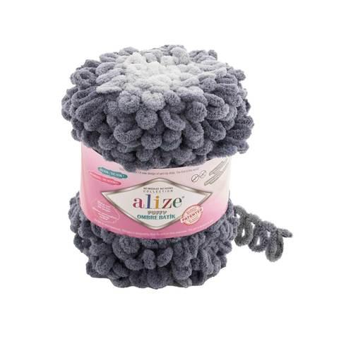 Купить Пряжа Ализе Пуффи Омбре Батик - цвет 7421 | Интернет-магазин пряжи «Пряха»