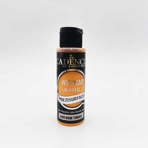 №10 Hybrid Acrylic, Теплый оранжевый, 70мл., Cadence