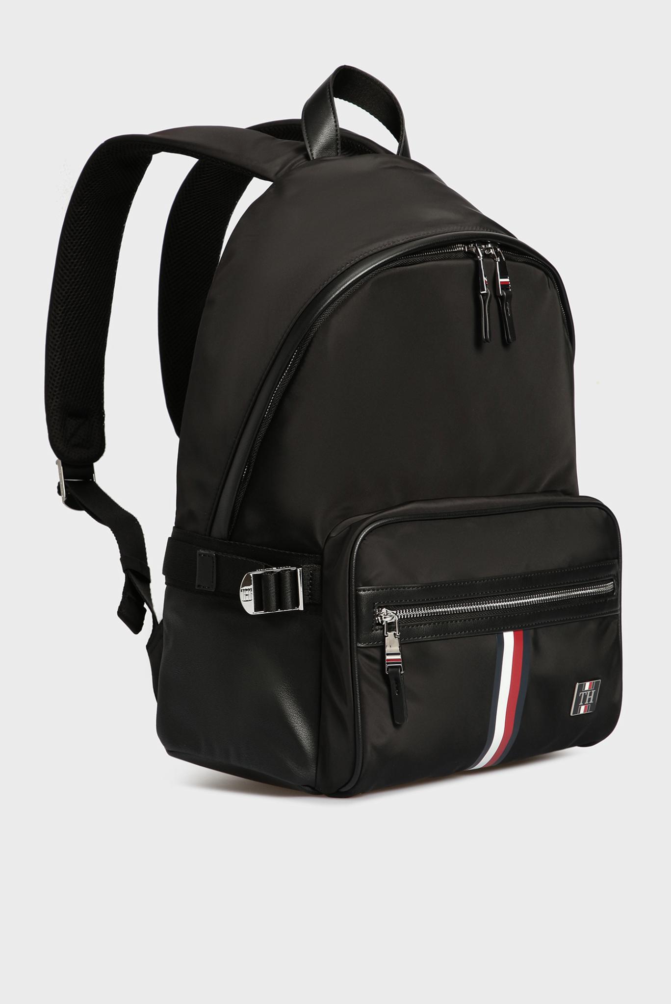 Мужской черный рюкзак CLEAN NYLON Tommy Hilfiger