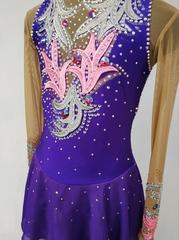Платье на выступление для фигурного катания Калипсо