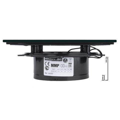 Вентилятор MMotors JSC MMP-90 Стекло/Черный
