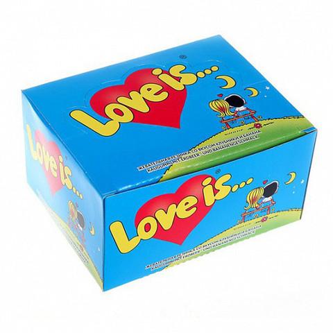 Жевательная резинка Love is… Банан-клубника 10х4.2 гр