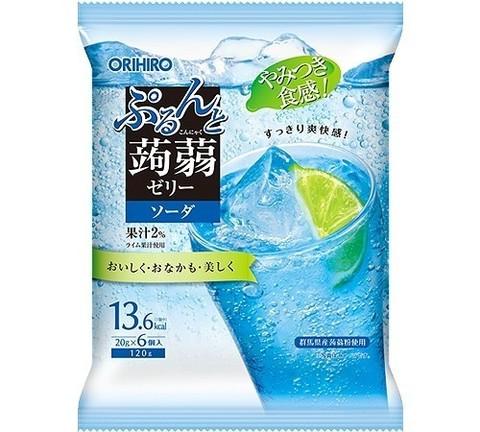 Желе конняку Orihiro со вкусом содовой 6 шт 120 гр