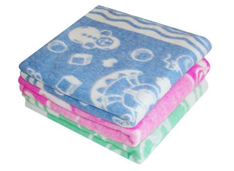 Одеяло байковое жаккард (140х100) OF-5ЕТОЖ