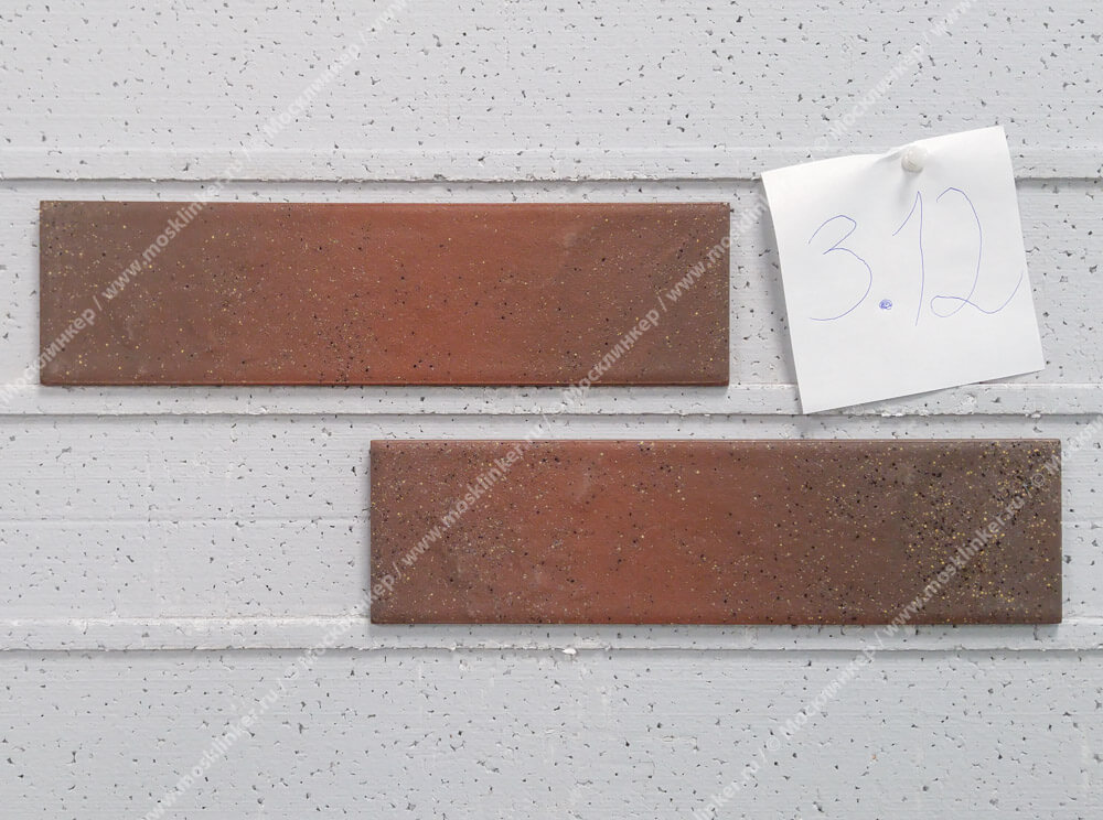 Paradyz - Semir, brown, strukt., 245x65.8x7.4 - Клинкерная плитка для фасада и внутренней отделки