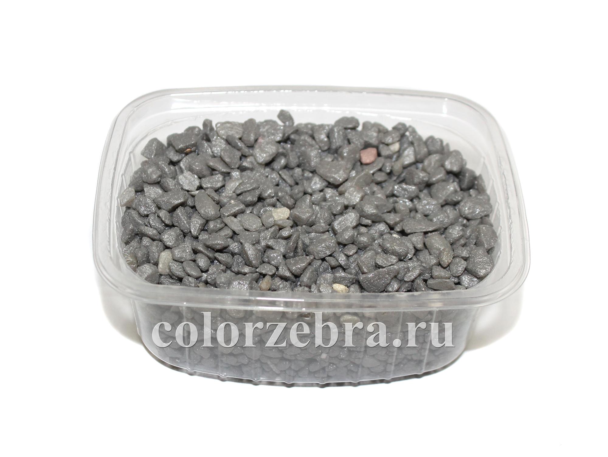 Грунт серый декоративный