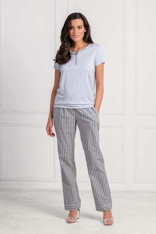 LAETE Женская пижама  с брюками в полоску 51576