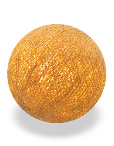 Хлопковый шарик золотистый
