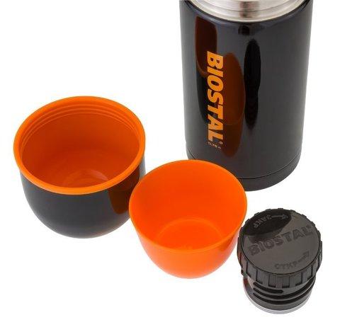 Термос Biostal Спорт (1,2 литра), черный