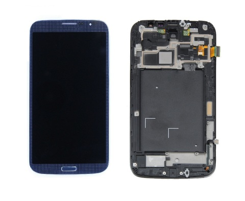 LCD SAMSUNG i9200 + Touch + Frame Blue Orig
