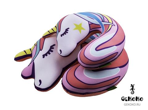 Подушка-подголовник Gekoko «Единорожка» 3