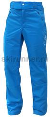 Ветрозащитные брюки NordSki Blue мужские