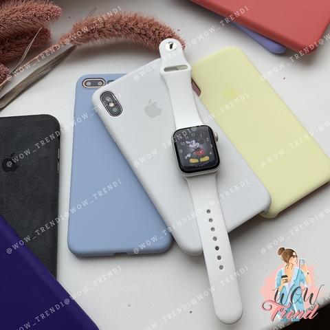 Ремешок Apple watch 38/40mm Sport Band /white/ белый