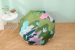 Женский облегченный зонт, с защитой от УФ, 8 спиц, разноцветный 01