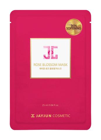 Тканевая Маска Для Лица С Розовой Водой JAYJUN COSMETIC Rose Blossom Mask