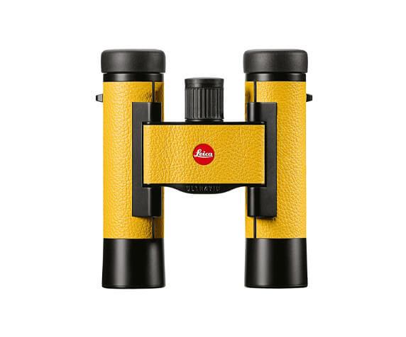 Бинокль Leica Ultravid Colorline 10x25 Lemon Yellow - фото 1