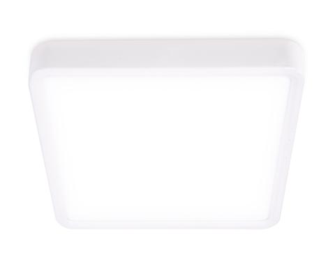 Накладной светодиодный светильник DLR368 12W 4200K 200-240V 140*140*28