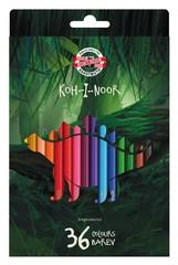 Карандаши цветные DINO 3595, 36 цветов