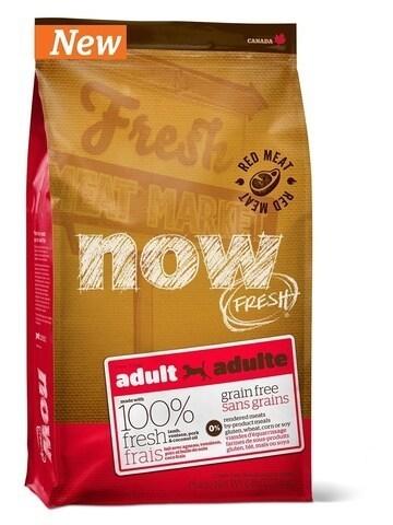 купить Now Fresh adult large breed recipe grain free DF сухой беззерновой корм для взрослых собак с мясом ягненка и оленины