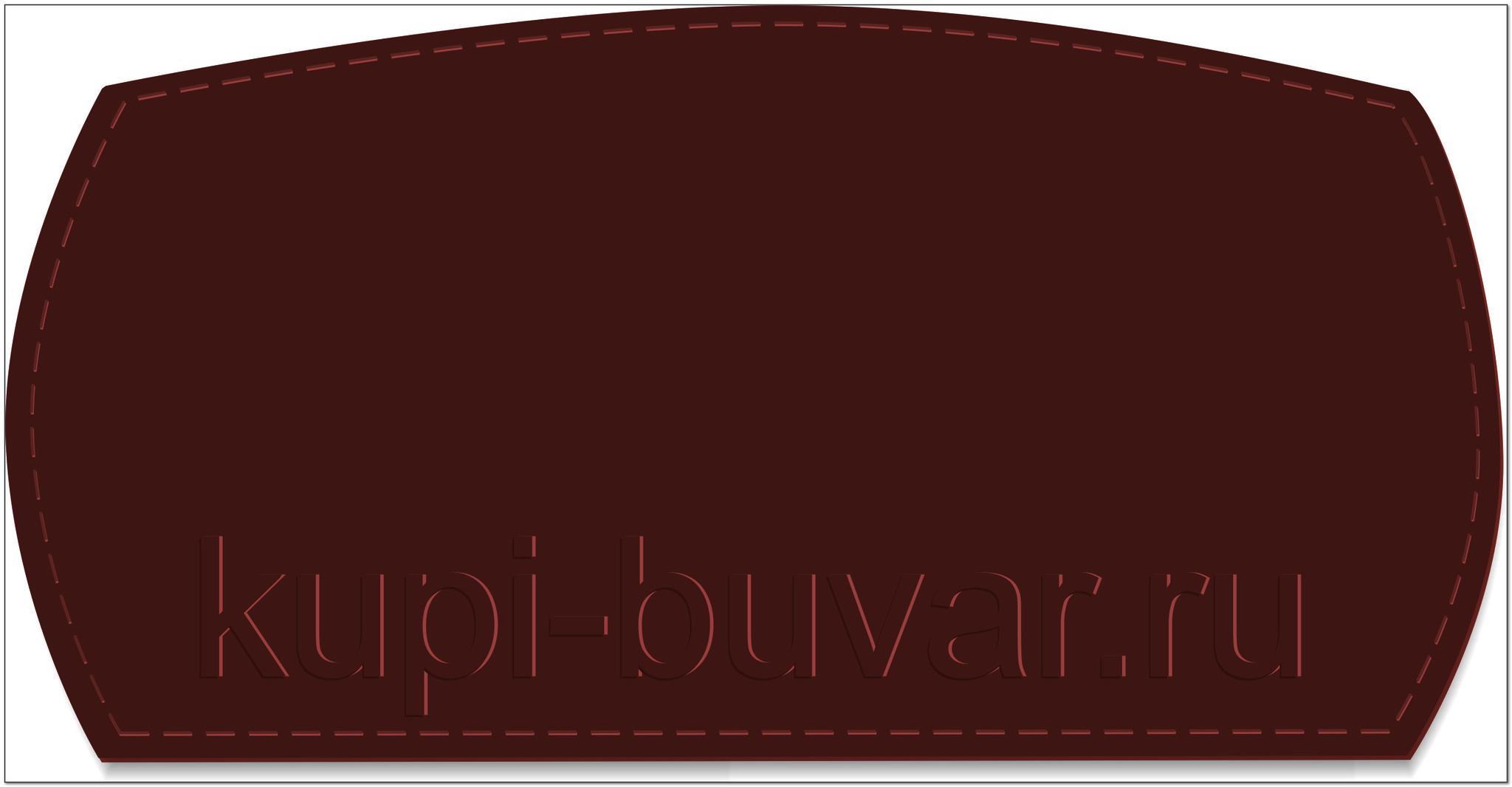 кожаный бювар - подложка на стол модель №12