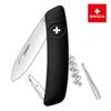 Уценка! Швейцарский нож SWIZA D01 Standard, 95 мм, 6 функций, черный