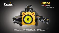 Купить Налобный фонарь Fenix HP20 Cree XP-G R5 напрямую от производителя, недорого и с доставкой.