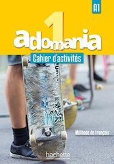 Adomania 1 Cahier + CD audio + Parcours digital